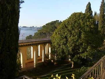 Villa Poggio, the terrace