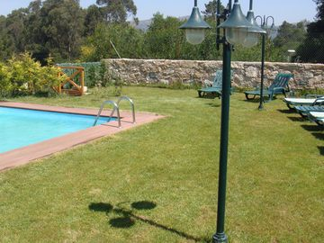 Vila Praia de Ancora villa rental - Pool and plenty of loungers