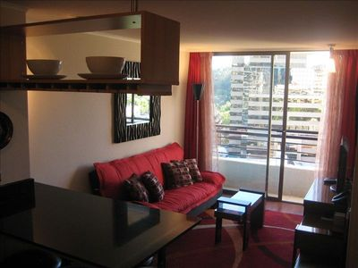 Santiago condo rental - Living Room