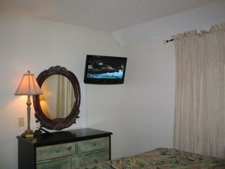 Myrtle Beach Resort condo photo - Master Bedroom TV