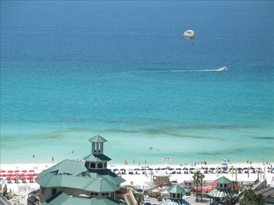 Sandestin Beach from Sunset Deck