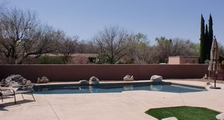 Tucson house photo - Sparkling pool, heated on request