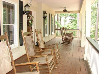 Huge Southern Country Style Rocking Chair Front Porch. Your gonna love this!