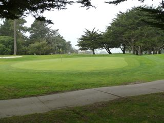 Pacific Grove house photo - Golf course at the end of the block.