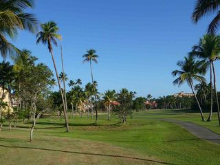 Humacao condo photo - Looking up the fairway toward the sixth tee.