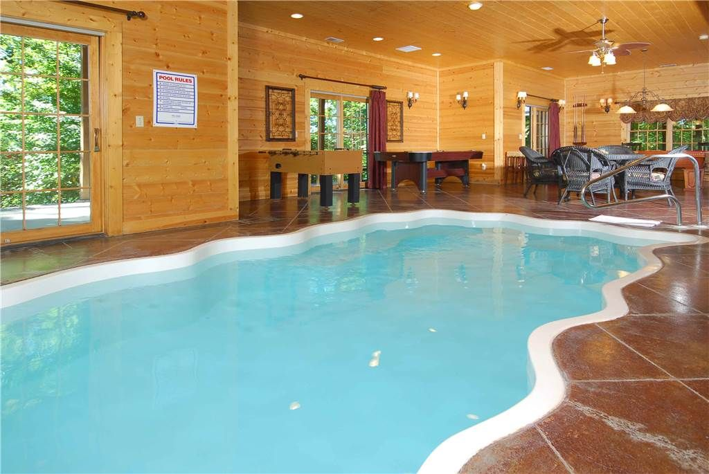 Magnificent Indoor Pool Mountain View Top Amenities