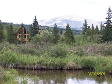 Alma cabin rental - Ten acres, a river, pine and aspen, unbelievable views--questions?