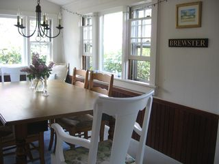 Brewster cottage photo - Dining area - Bayside