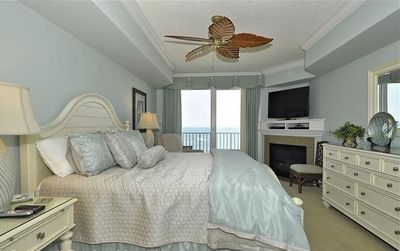 Grand Oceanfront Master Bedroom