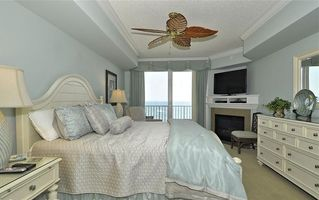 South Beach Ocean City condo photo - Grand Oceanfront Master Bedroom