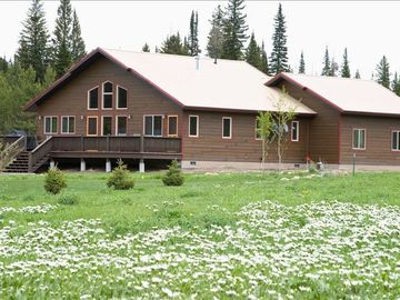 West Yellowstone house rental - 'Elk Crossing' Vacation Home, located in the heart of the Rocky Mountains.