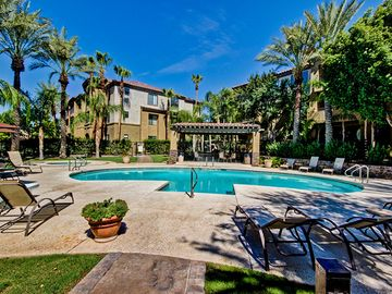 Phoenix condo rental - On warmer days, you'll want to take a dip in the large pool.