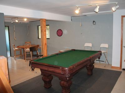 Playroom- Pool, TV, Card Table, Ping Pong, Foosball, Darts