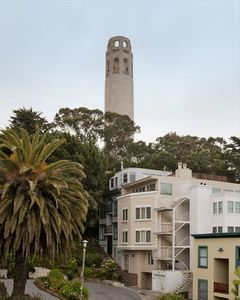 View of Coit Tower from the Deck
