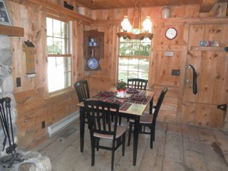 White Cloud cabin photo - Main cabin Dinning