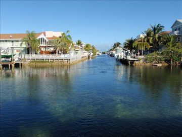 Key Largo condo rental - Boat Basin Channel Out