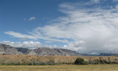 Sheridan house rental - The Big Horn Mountains. View to the southeast from the house.