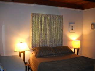 Belleayre Mountain chalet photo - Inviting bedroom #1 with queen sized bed on the first floor.