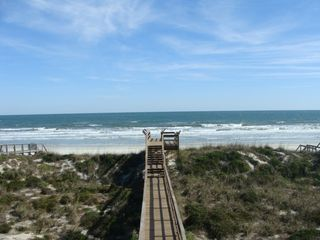 Walkway to the Beach is 3 homes away. Just a 2 minute walk! - St. Augustine house vacation rental photo