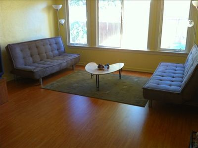 Living Room With Fouton Couches