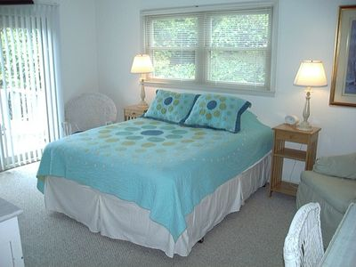 Master Bedroom with large walk-in closet, private bath and balcony