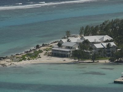 Aerial View of the Retreat @ Rum Point