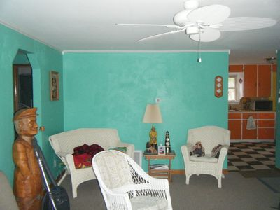 Baldwin / Walhalla cottage rental - .Living Room