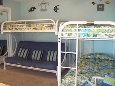 Fort Walton Beach condo rental - DOUBLE BUNK & FUTON BEDROOM