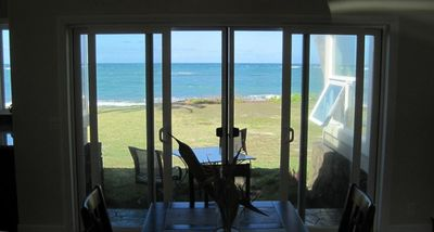 View of ocean from dinning room