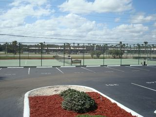 New Smyrna Beach condo photo - Tennis and shopping in background