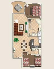 Celebration condo photo - Floorplan at Mystic Dunes Resort
