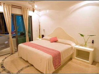 Playa del Carmen condo photo - Beautiful private bedroom in our one bedroom condo