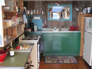 Prospect Harbor cottage photo - kitchen