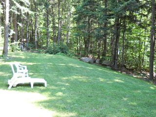 Green Lake cabin photo - Small side lawn