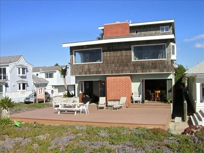 Your Dream home on the Sand is Here ~ Entire 1st floor -sand level of the home.