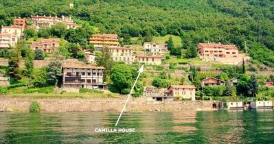 CASA CAMILLA Varenna  frontlake best of of lakes world's as Rick Steves book