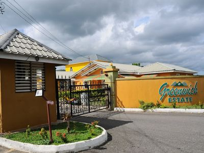Ocho Rios apartment rental - Main entrance