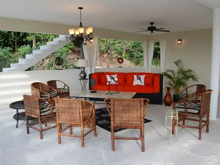 Runaway Bay villa photo - one of the living rooms with fabulous views