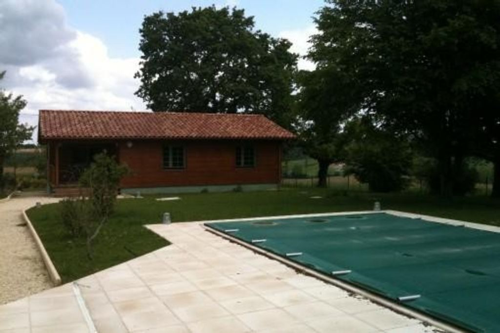 Chalet with pool, 4 people (6 possible) Mauleon d'Armagnac, GERS (32)