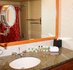 Stateline condo photo - Granite Tiled Bathroom