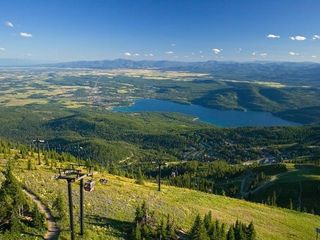 Whitefish condo photo - View of Whitefish Lake from Big Mountain