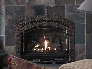 Coeur d 'Alene house photo - Fireplace One of Two