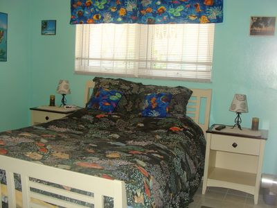 Grand Bahama Island condo rental - Guest Bedroom with Queen Bed