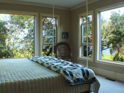 Master Bedroom with Hanging Bed