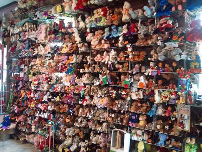 Lots and lots of stuffed animals