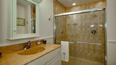 Bathroom attached to 1st Master