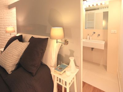 Luxury one bedroom with private patio