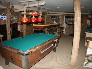 Maggie Valley estate photo - Game room and bar