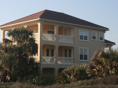 Flagler Beach house rental - Panoramic views on all balconies.