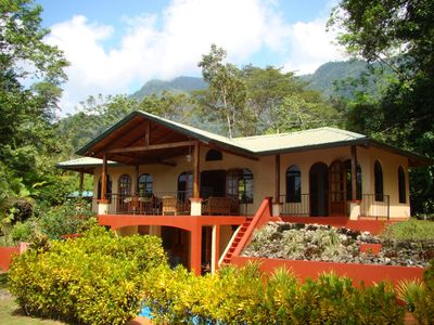 Casa Tranquila - set in the Tropical Forest w/ Mountains behind